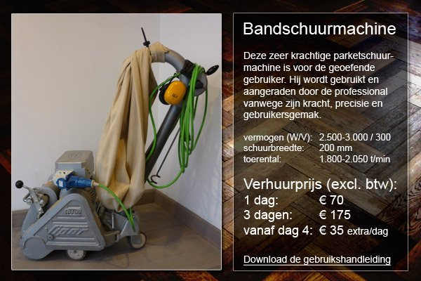 bandschuurmachine