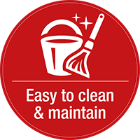 easy-to-clean