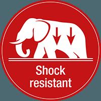 shock-resistant