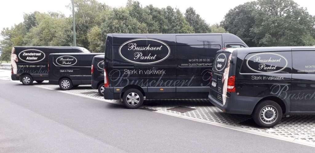 Camionetten Busschaert Parket